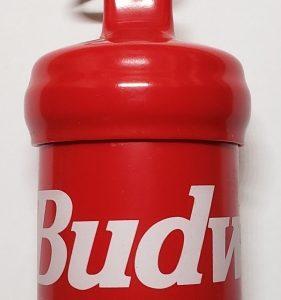 Budweiser Beer Keychain Fob