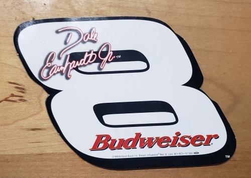 Budweiser Beer NASCAR Dale Jr Sticker