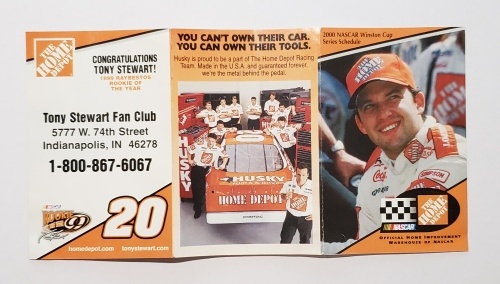 Home Depot NASCAR Racing Schedule
