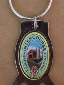 Intercourse Beer Keychain Opener