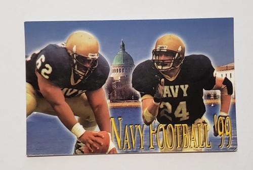 Odouls Beer Navy Football Schedule Card