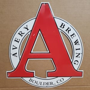 Avery Beer Tin Sign