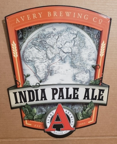 Avery IPA Tin Sign