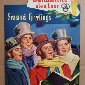 Ballantine Beer Holiday Sign