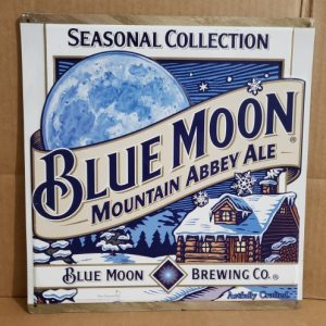 Blue Moon Ale Tin Sign [object object] Home bluemoonmountainabbeyaletin 300x300