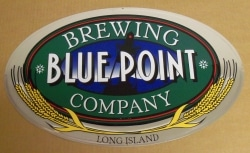 Blue Point Beer Tin Sign