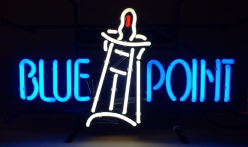 Blue Point Beer Neon Sign