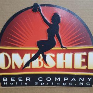 Bombshell Beer Tin Sign