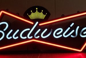 Budweiser Beer Bowtie LED Sign [object object] Home budweiserbowtie4ft2008led 300x204