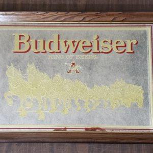 Budweiser Beer Clydesdale Mirror
