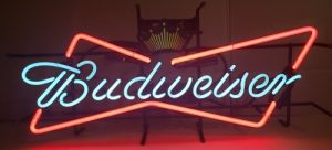 Budweiser Beer Bowtie Neon Sign budweiser beer bowtie neon sign Budweiser Beer Bowtie Neon Sign budweisercrownbowtie2015used 300x136