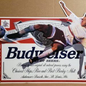 Budweiser Beer Soccer Tin Sign [object object] Home budweisersoccer1996tin 300x300