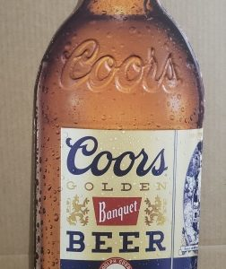 Coors Banquet Beer Tin Sign