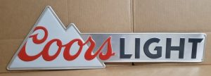Coors Light Beer Tin Sign coors light beer tin sign Coors Light Beer Tin Sign coorslight2015tin 300x108