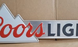 Coors Light Beer Tin Sign [object object] Home coorslight2015tin 300x180