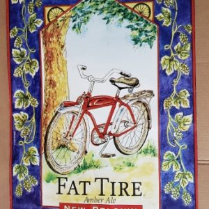 Fat Tire Beer Tin Sign [object object] Home fattire1991tin 300x300