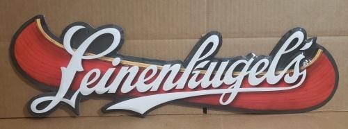 Leinekugels Beer Tin Sign
