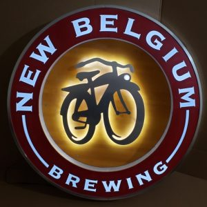 New Belgium Beer LED Sign [object object] Home newbelgiumbrewinglargewoodled 300x300