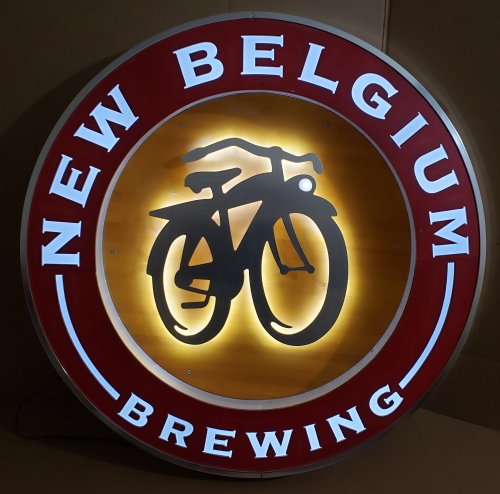 New Belgium Beer LED Sign
