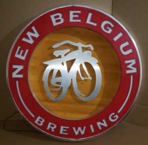 New Belgium Beer LED Sign new belgium beer led sign New Belgium Beer LED Sign newbelgiumbrewinglargewoodledoff 300x293