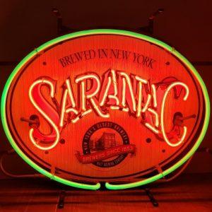 Saranac Beer Neon Sign