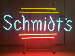beer sign collection My Beer Sign Collection 3 – Not for sale but can be bought… schmidts1971 e1616586467193