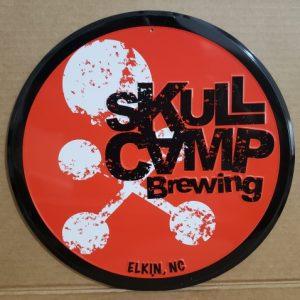 Skull Camp Beer Tin Sign
