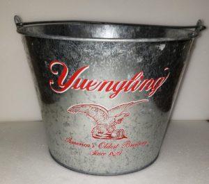 Yuengling Beer Bucket yuengling beer bucket Yuengling Beer Bucket yuenglingeagletinbucketused 300x265