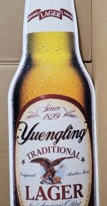 Yuengling Lager Bottle Tin Sign [object object] Home yuenglinglagerbottletin 157x300