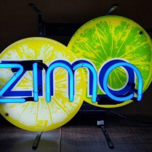 Zima Malt Neon Sign
