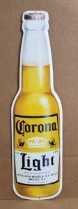 Corona Light Beer Tin Sign corona light beer tin sign Corona Light Beer Tin Sign coronalightbottletin 112x300