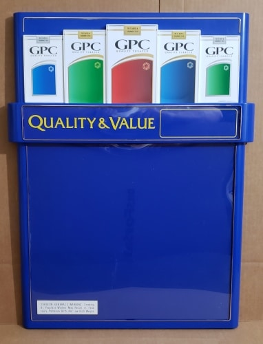 GPC Cigarettes Dry Erase Board