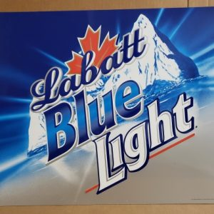 Labatt Blue Light Beer Tin Sign [object object] Home labattbluelight2002tin 300x300
