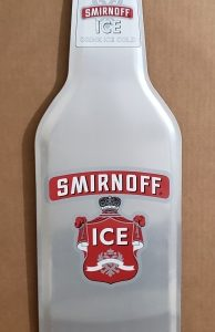 Smirnoff Ice Malt Tin Sign [object object] Home smirnofficebottletin 194x300