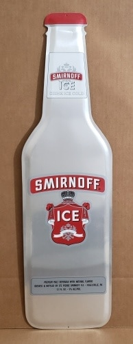 Smirnoff Ice Malt Tin Sign