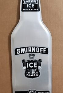Smirnoff Ice Malt Tin Sign [object object] Home smirnofficetripleblackbottletin 205x300