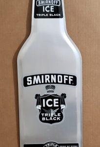 Smirnoff Ice Malt Tin Sign [object object] Home smirnofficetripleblackbottletin 205x300