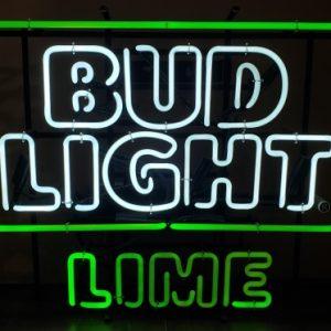 Bud Light Lime Neon Sign