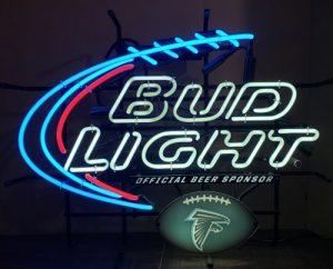 Bud Light Beer NFL Atlanta Falcons Neon Sign bud light beer nfl atlanta falcons neon sign Bud Light Beer NFL Atlanta Falcons Neon Sign budlightnflatlantafalcons2014 300x242