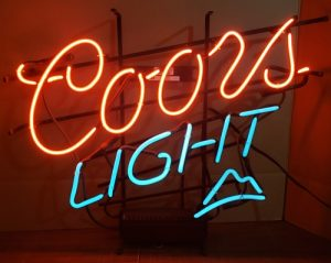 Coors Light Neon Sign coors light neon sign Coors Light Neon Sign coorslight2007 300x239