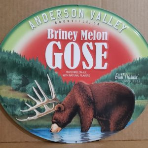 Anderson Valley Beer Tin Sign