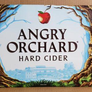 Angry Orchard Hard Cider Tin Sign