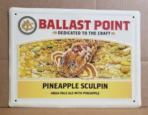 Ballast Point Pineapple Sculpin Tin Sign ballast point pineapple sculpin tin sign Ballast Point Pineapple Sculpin Tin Sign ballastpointpineapplesculpintin 300x234