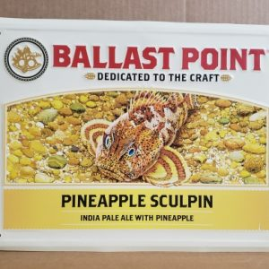 Ballast Point Pineapple Sculpin Tin Sign