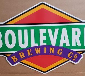 Boulevard Beer Tin Sign