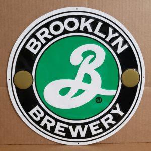 Brooklyn Beer Tin Sign