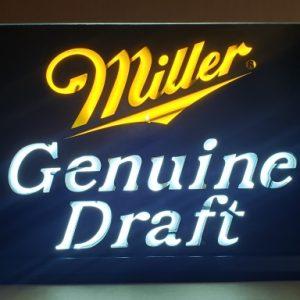 Miller Genuine Draft Beer Light