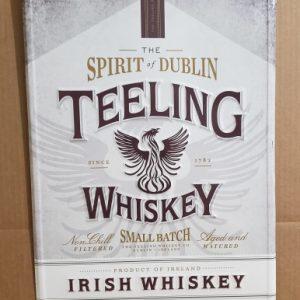 Teeling Irish Whiskey Tin Sign