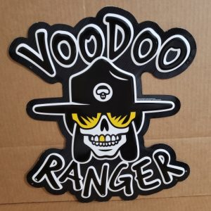 New Belgium VooDoo Ranger IPA Tin Sign