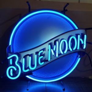 Blue Moon Beer Mini Neon Sign [object object] Home bluemoonmini2005 300x300